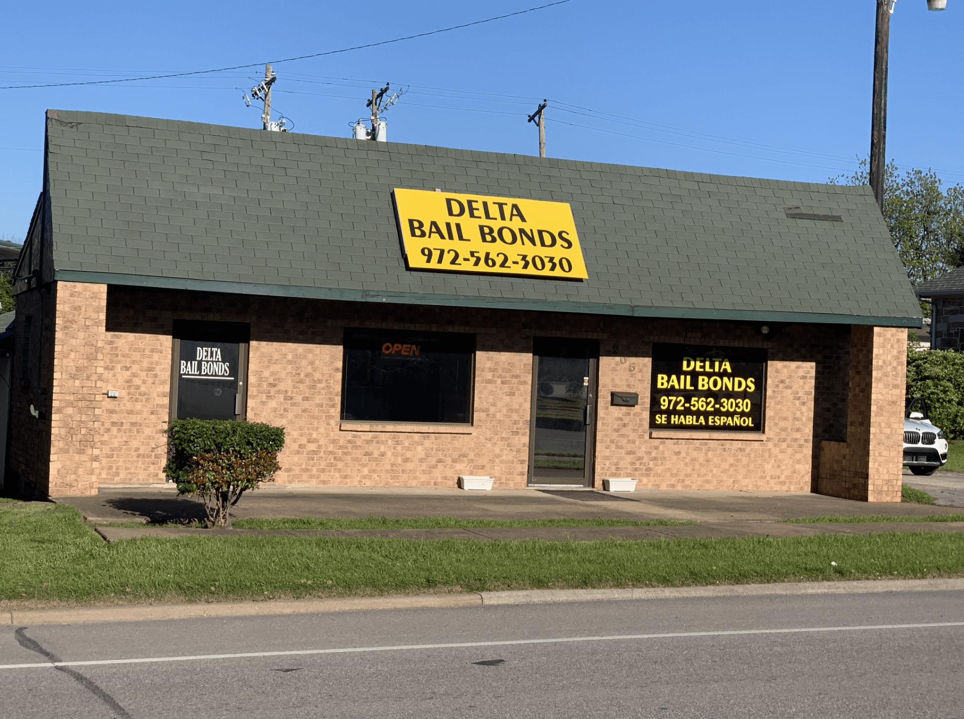 Delta Bail Bonds office in McKinney, TX